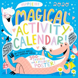 front of magical activity calendar 2020