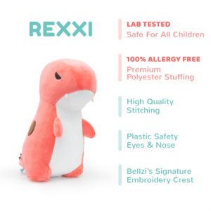 rexxi t-rex plush with facts