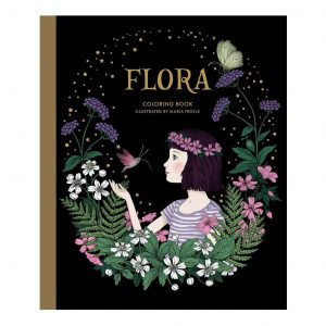 Color Book Flora