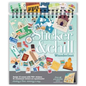 Cover Sticker & Chill Wanderlust
