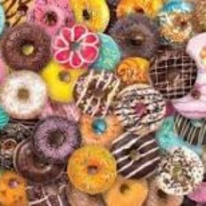 Donuts puzzle picture