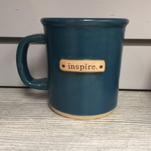 Mug Inspire Teal Mud Love