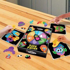 Silly Faces Colorform game play