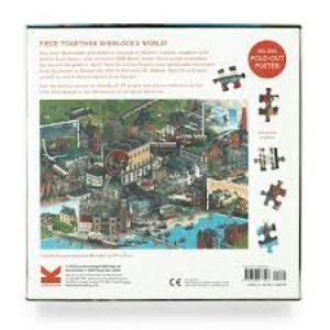 Sherlock Holmes puzzle back cover